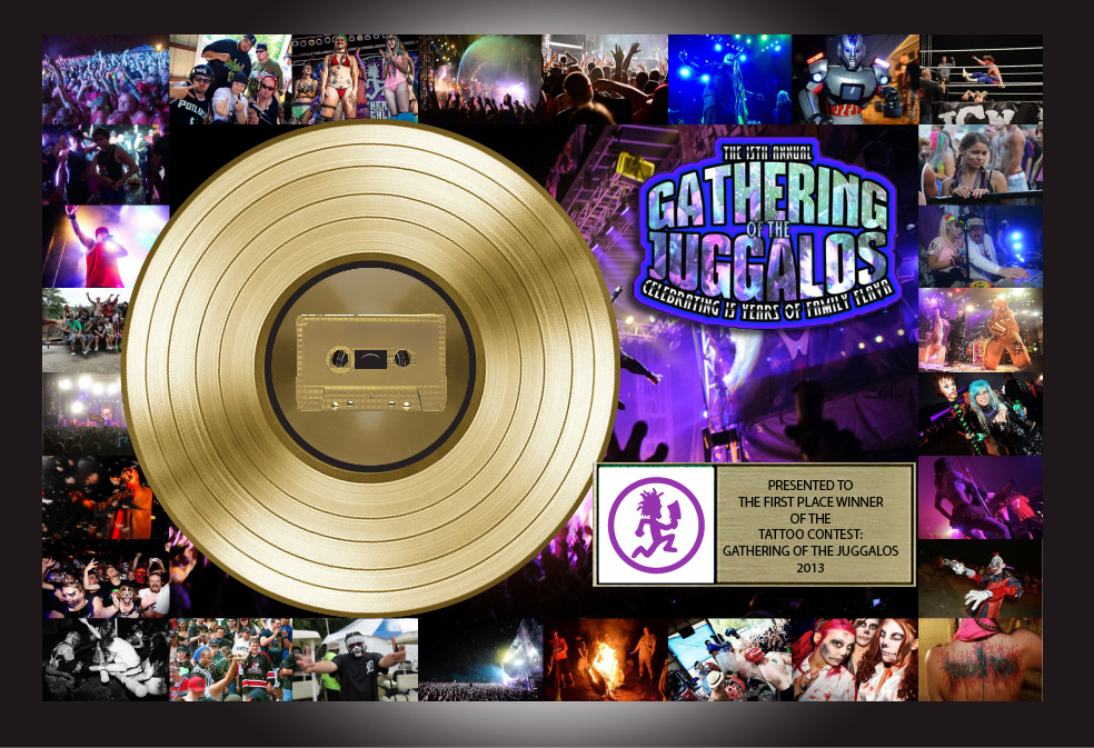 Plaque Design for GOTJ