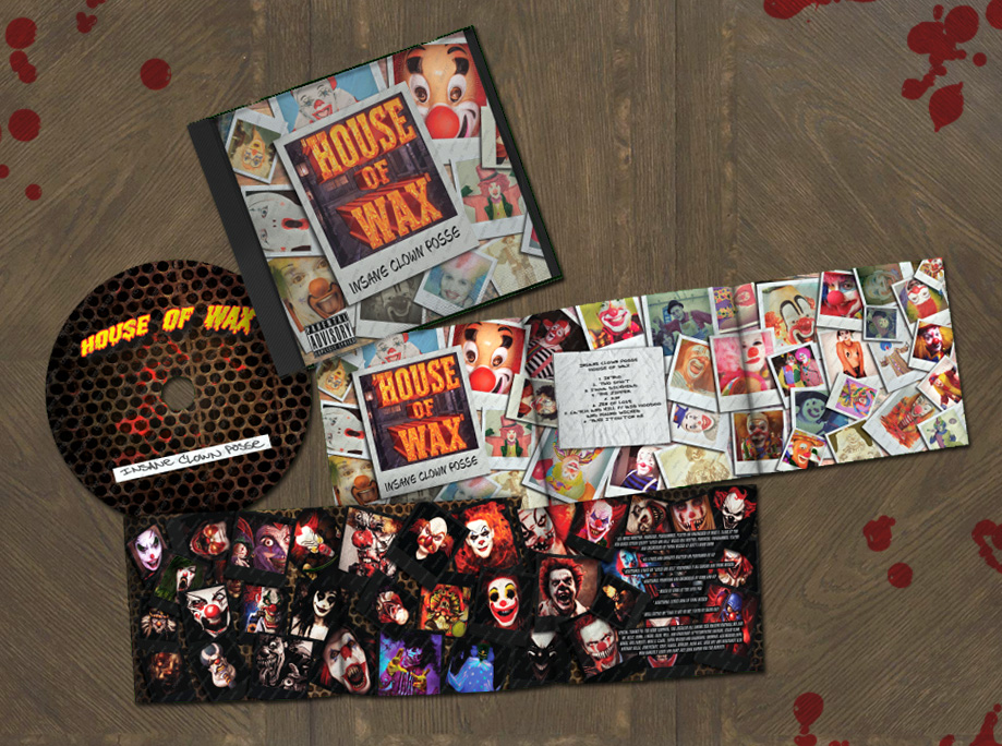 House of Wax Album Cover & Inserts