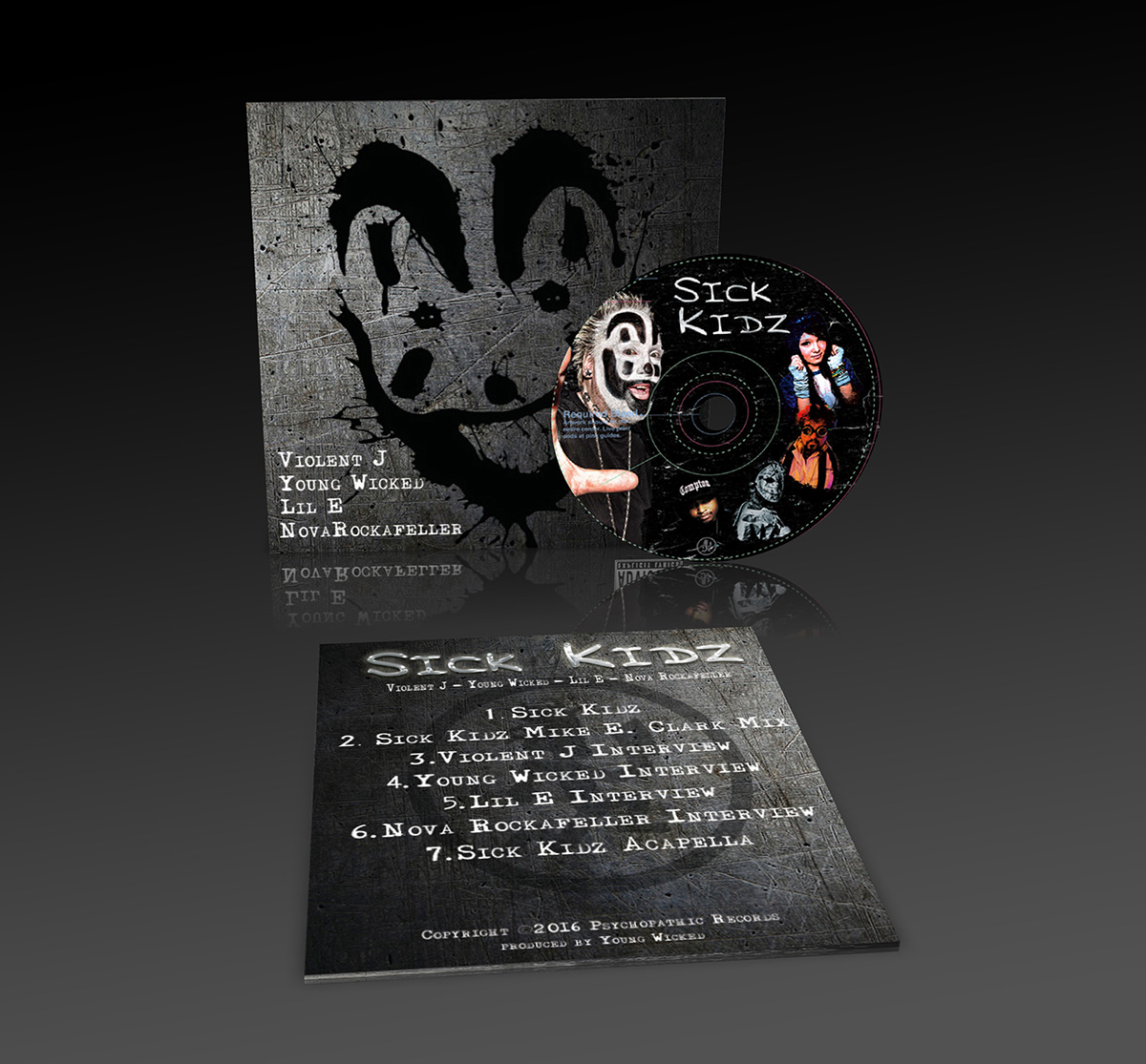 Sick Kidz Charity CD Sleeve & CD Design