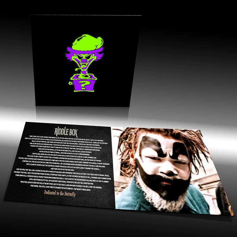 Insane Clown Posse Riddlebox Aniversery CD Booklet