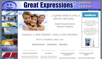 Great Expressions Dental Center '02